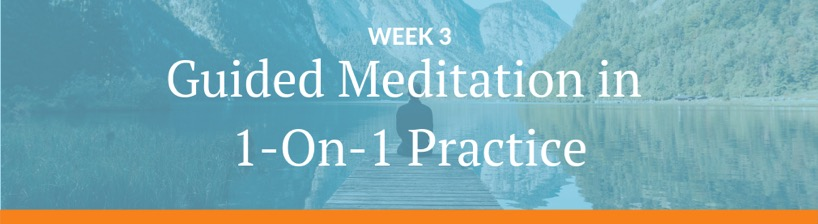 guided meditation 1 on 1 practice tour